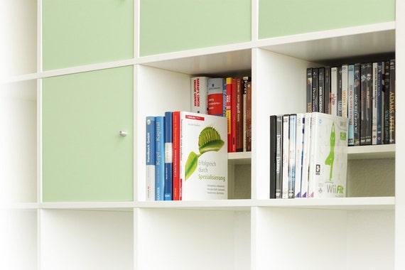 Ikea Kallax Expedit Regal DVD Bluray Buch Einsatz Fachteiler für 44 DVDs  Blurays oder Bücher CD-Regal DVD-Storage Aufbewahrung Stufe weiß
