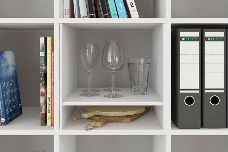 Lettere Di Legno Ikea : Uso di ikea kallax expedit scaffale con 1 mensola etsy