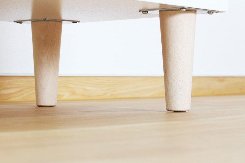 Pieds de meubles pour ikea nordli dresser ensemble de etsy