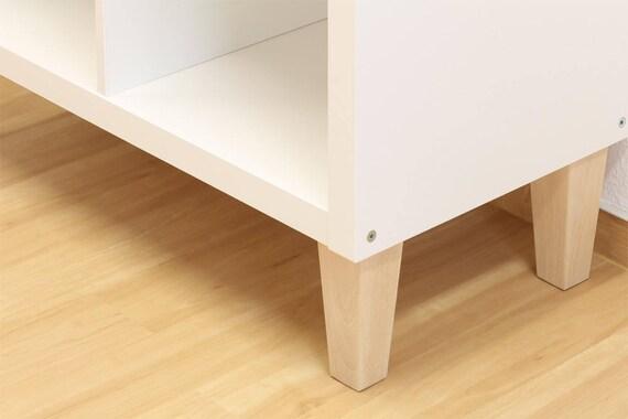 Tv Meubel Billy.6 X Ikea Kallax Shelf Feet Furniture Feet Furniture Legs Solid Etsy