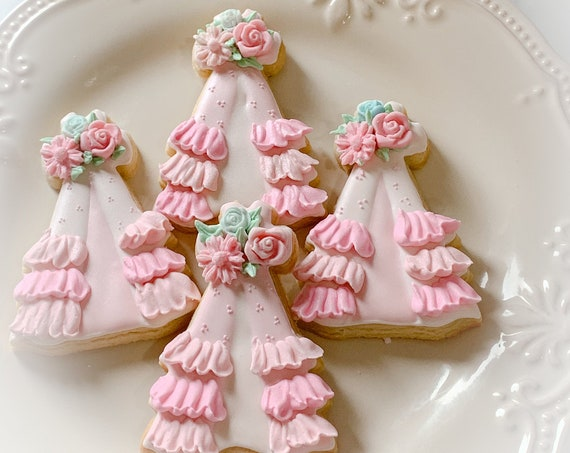 Girls' Camping Boho Style Teepee, 12 Pieces Party Cookie Favor
