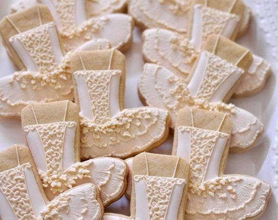 Nutcracker, Sugar Plum Fairy Ballet Tutu Dress Cookies- 1 Dozen Cookie Favor, Baby Shower, Birthday Cookies