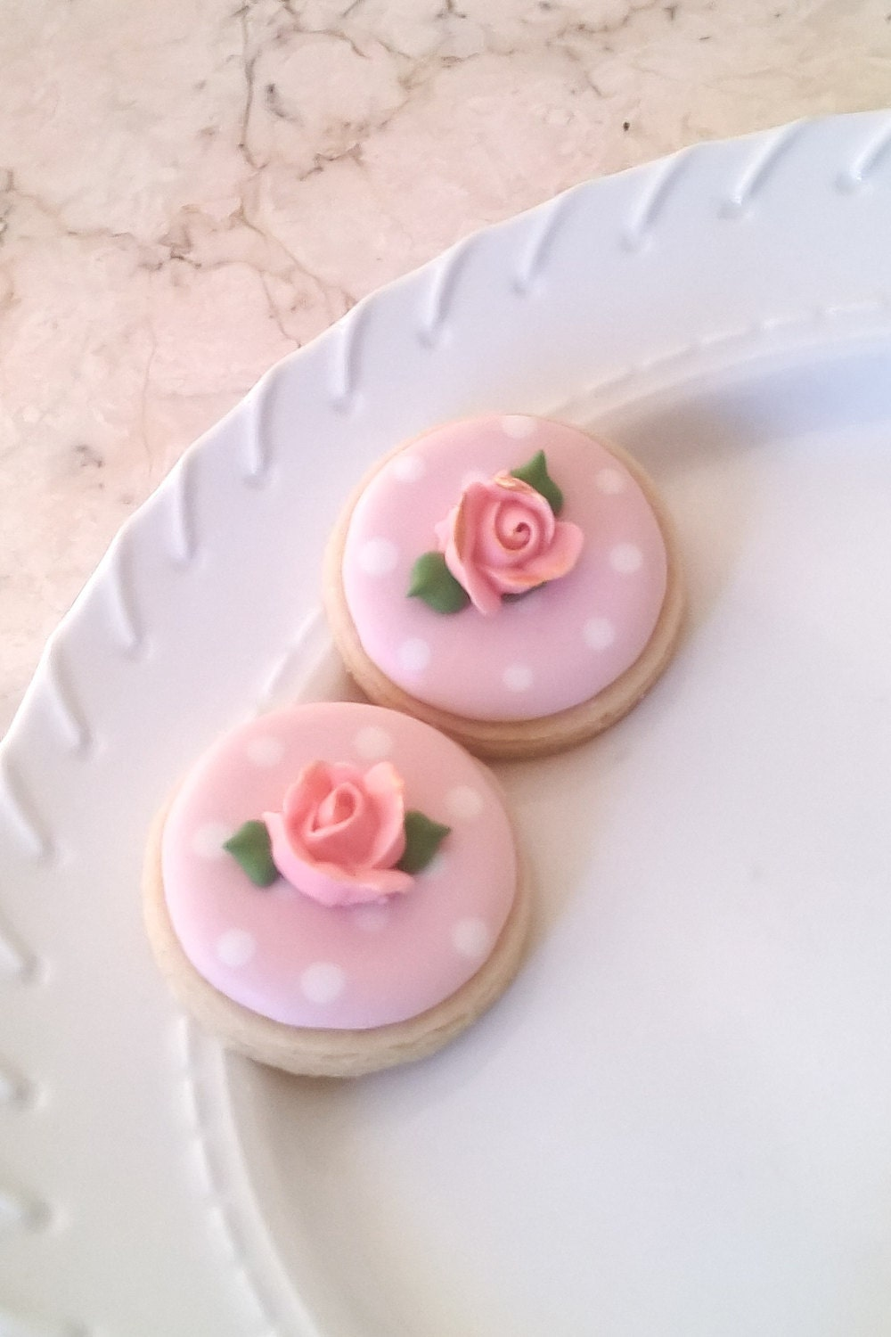 50 Pcs. Round or Heart Cookie Favor-White Wedding Favors, Bridal ...