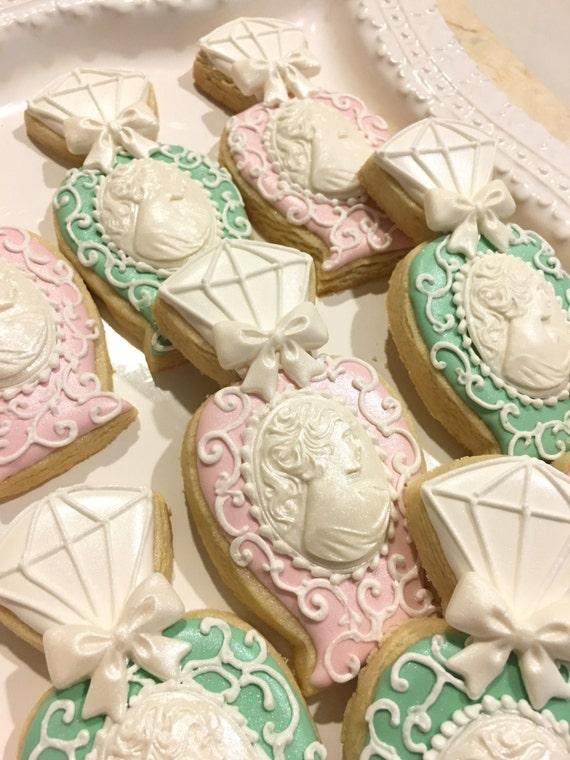 1 Dozen Marie Antoinette Perfume Bottle Cookies