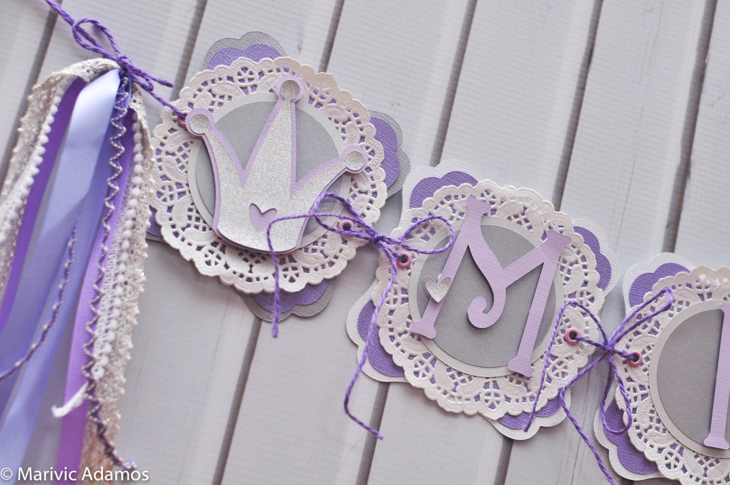 princess birthday banner name banner special event banner party