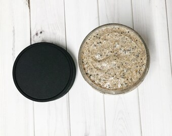 Scrubby Dubby Facial Scrub, Walnut, Brown Sugar, Sea Salt, Poppy Seeds, Facial Cleanser