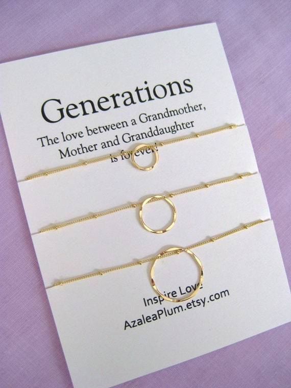90th Birthday GIFT Gold Necklace