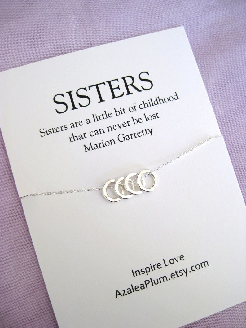 40th Birthday Gifts For Women SISTER Necklace Sister Gift