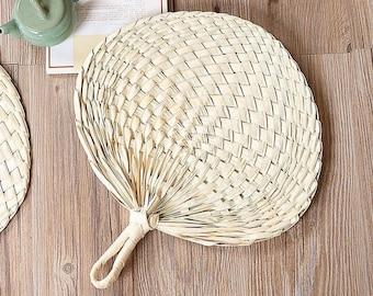 LARGE  Palm Wedding Fans // Palm Leaf Fans, Wedding Fan,  ***PLEASE Read Ad Description Below for Details! ***