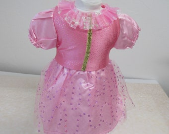 """Pink Princess Doll Dress for American Girl Doll and other 16""""-18"""" dolls  *** PLEASE READ AD for Details** Hand Made - New!"""