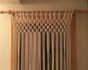 Delicieux Cotton Rope Macrame Door Curtain For Boho/bohemian Home Decoration