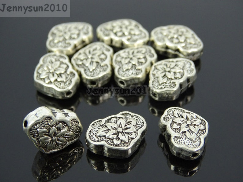 5 x Tibetan Silver LOVE AND BE LOVED Charm Pendant Finding Bead Jewellery Making