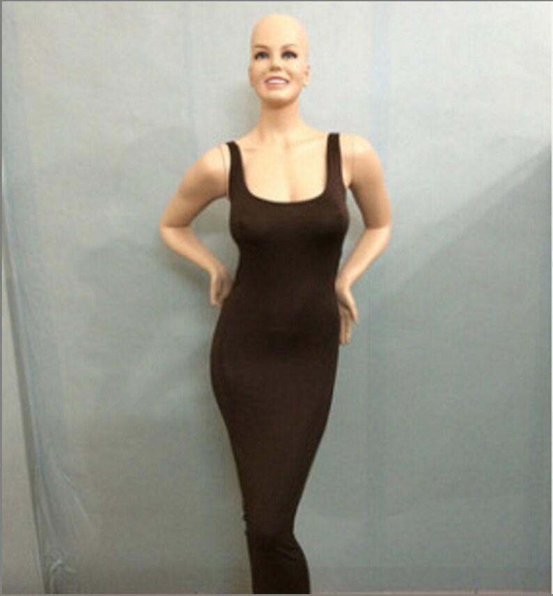 Women/'s Sleeveless Tank Top Holiday Long Dress Casual Party Bodycon Maxi Dresses Deep Coffee