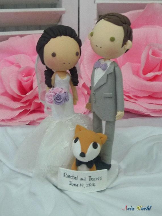 Hochzeitstorte Topper Pastell Lila Rosa Hochzeit Thema Ton Etsy