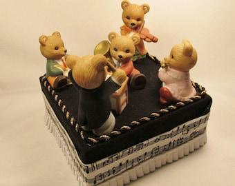 Adorable Bear Band-OOAK