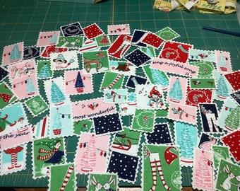 Pixie Noel Fabric Stamps