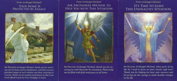 Archange Michael Canalisée Oracle Lecture Document Pdf Etsy