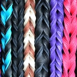 Braided Bullhide lead, 4 foot long, leather, handmade leash