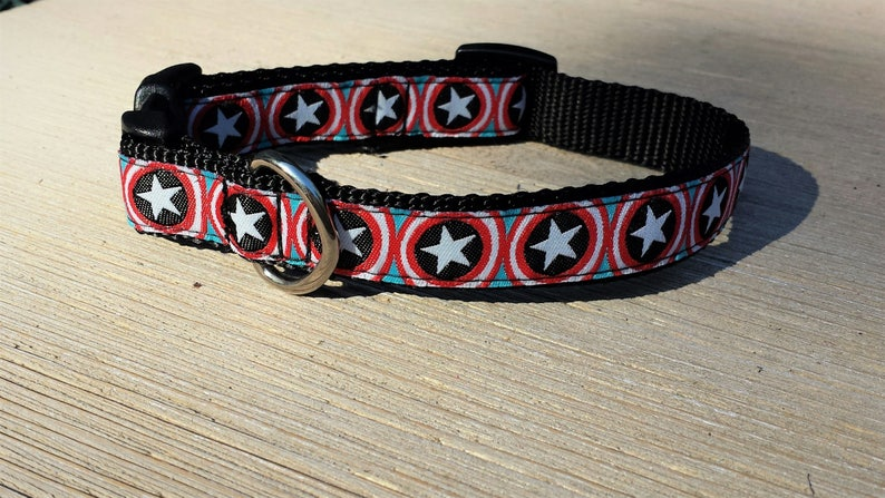 5/8 Adjustable Dog Collar Bucke Collar Captain image 0