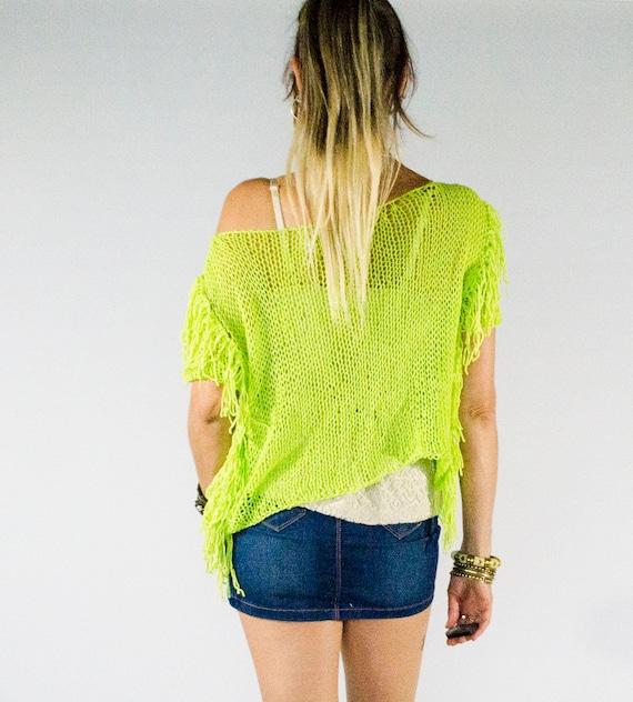 dfeb15477efc6 Boho Chic Off one Shoulder Cropped Top Short Sleeve Knit