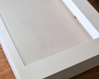 White Concrete Ramp Sink