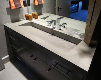 Concrete Vanity Top