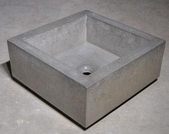 Mini Concrete Vessel Sink