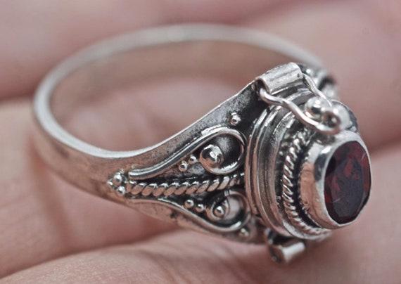 4x4 mm Natural Lapis Lazuli Handmade Ring-925 Solid Silver Ring-Gemstone Ring-Birthstone Ring-Lapis Adjustable Ring-Moon /& Star Ring