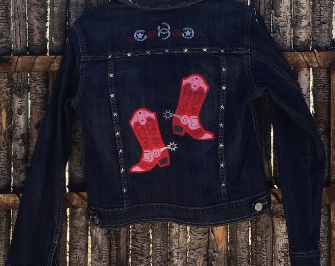 Girls cowboy jacket SZ 14/16