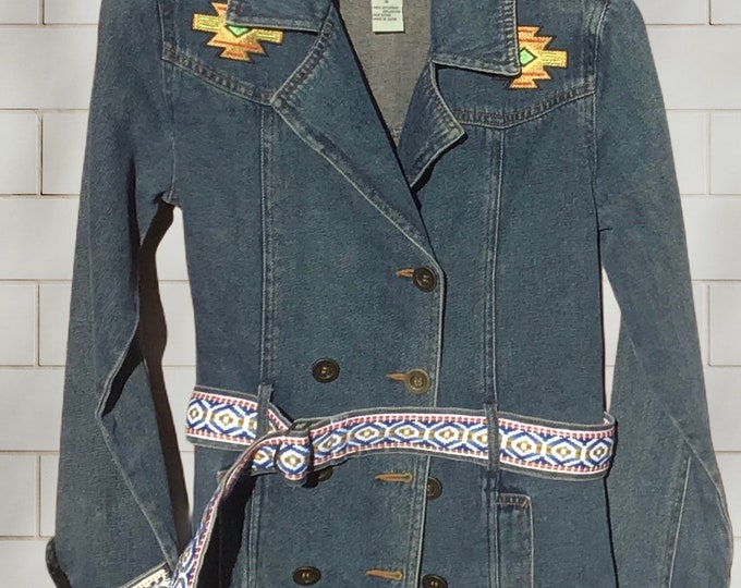 Jean blazer perfection!!! SZ S