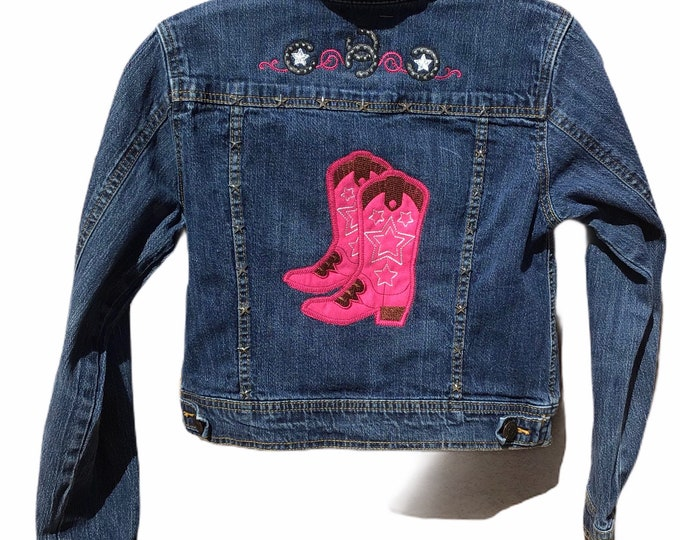 Girls Cowboy Jacket SZ 7/8