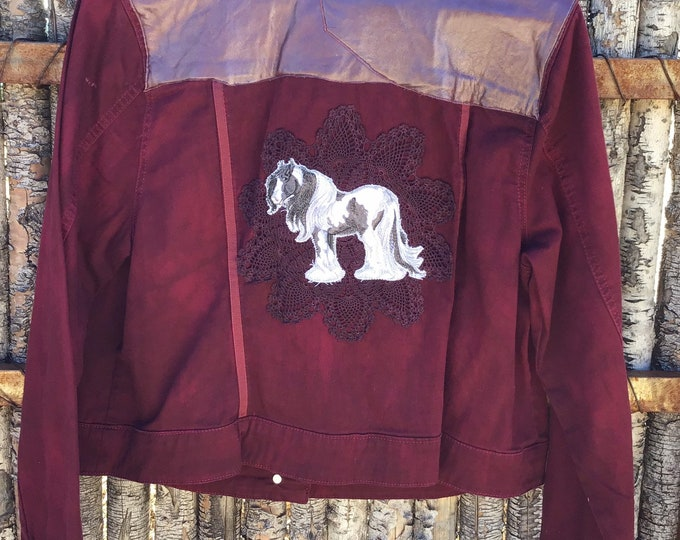 Gorgeous Burgundy Jacket! SZ L