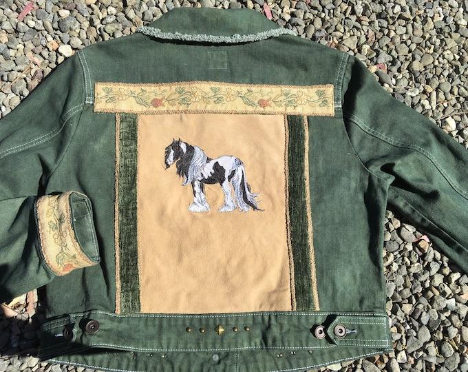 Gorgeous Gypsy Vanner jacket SZ L