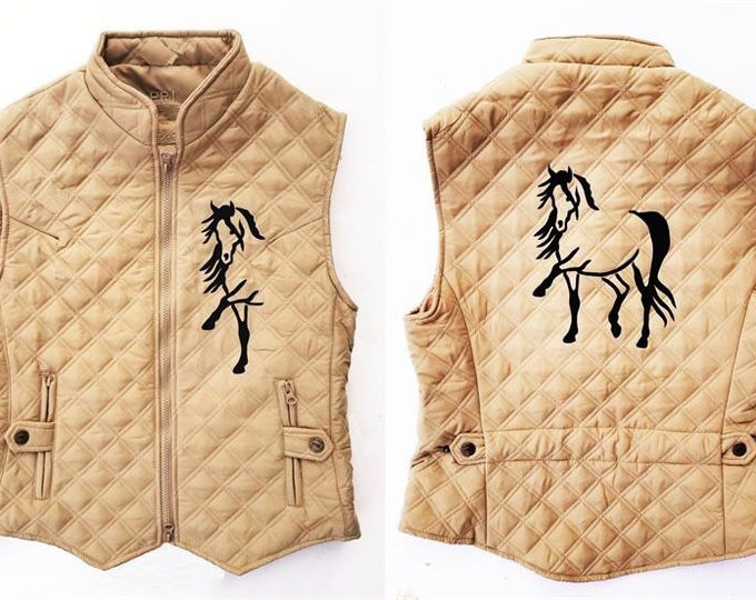 Beautiful Quilted 2-sided vest