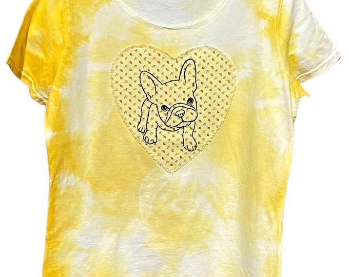 Frenchie shirt SZ L