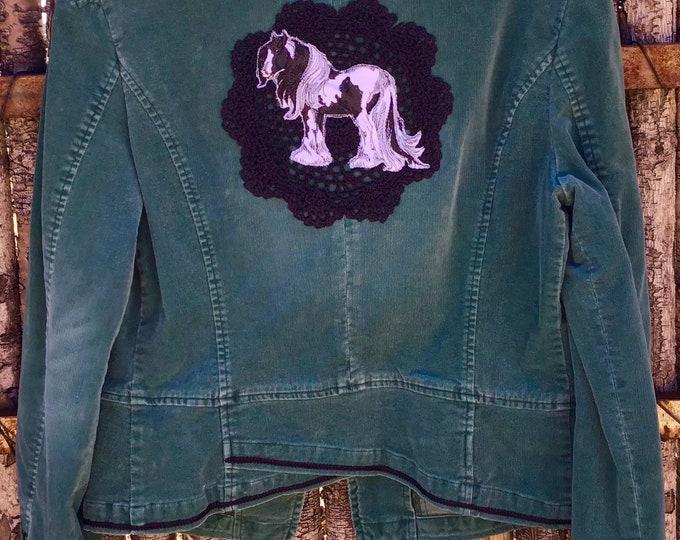 Pretty Corduroy Jacket SZ L