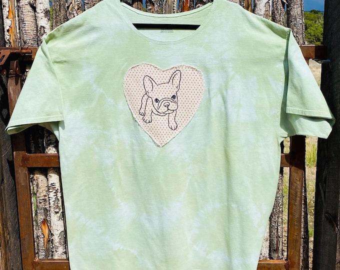 Ladies Frenchie shirt, multiple sizes!