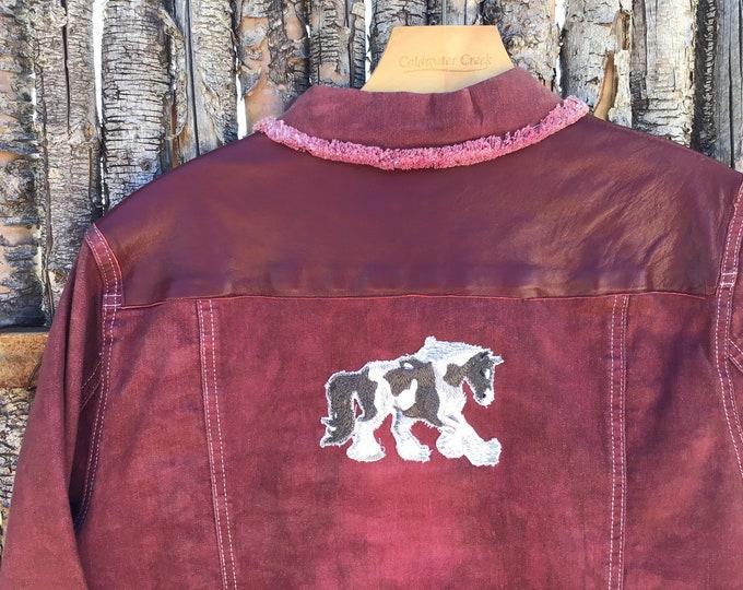 Gypsy Vanner Jacket SZ 3X
