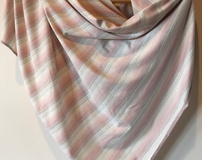 Beautiful shimmer scarf / wild rag
