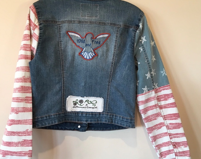 ADORABLE Jr's jean jacket! SZ M
