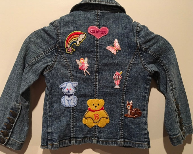 Girls 4T patch jacket