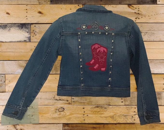 Cowboy Boots jacket SZ 7/8