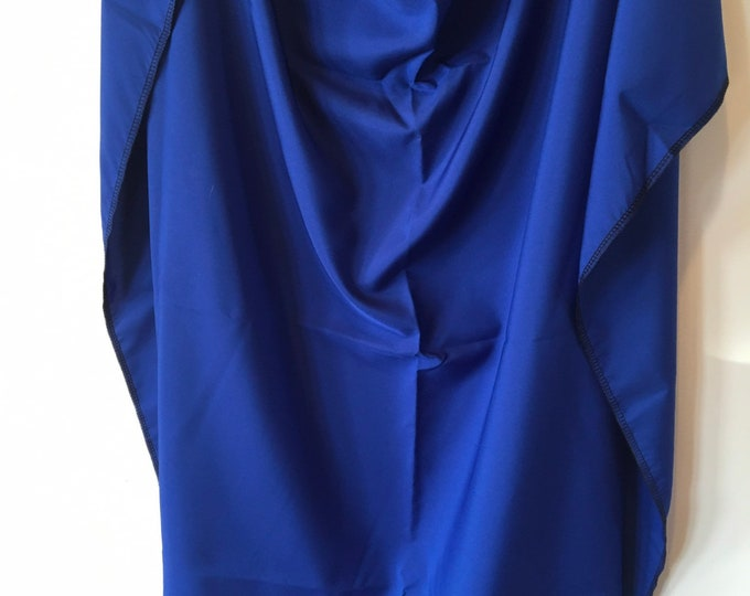 Solid royal blue scarf / Wild Rag