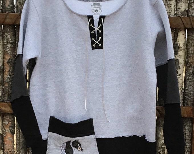 Gypsy Vanner sweatshirt! SZ M