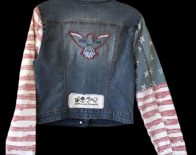ADORABLE Jr's jean jacket! SZ M