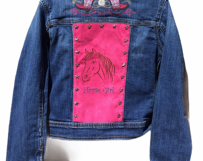 Horse Girl Jacket SZ 7/8