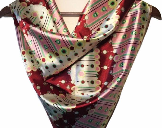Gorgeous hand sewn wild rag/scarf