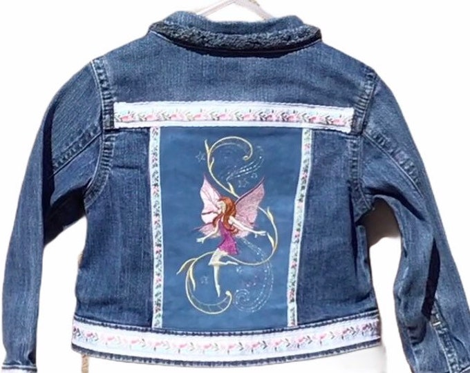 Girls fairy princess jacket SZ 4T