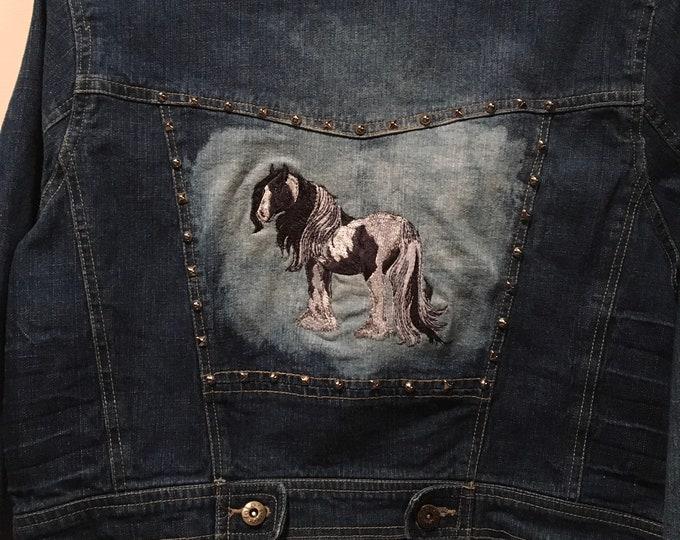 Cool Gypsy Jean Jacket! SZ Large