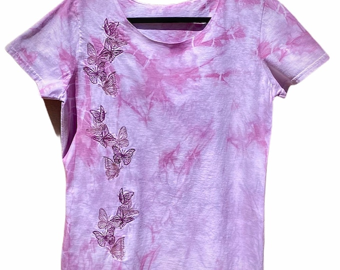 Tie dye butterfly top Multiple sizes!